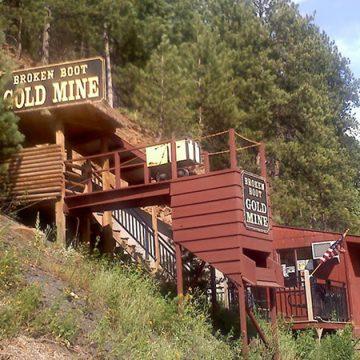 Broken Boot Mine, Deadwood