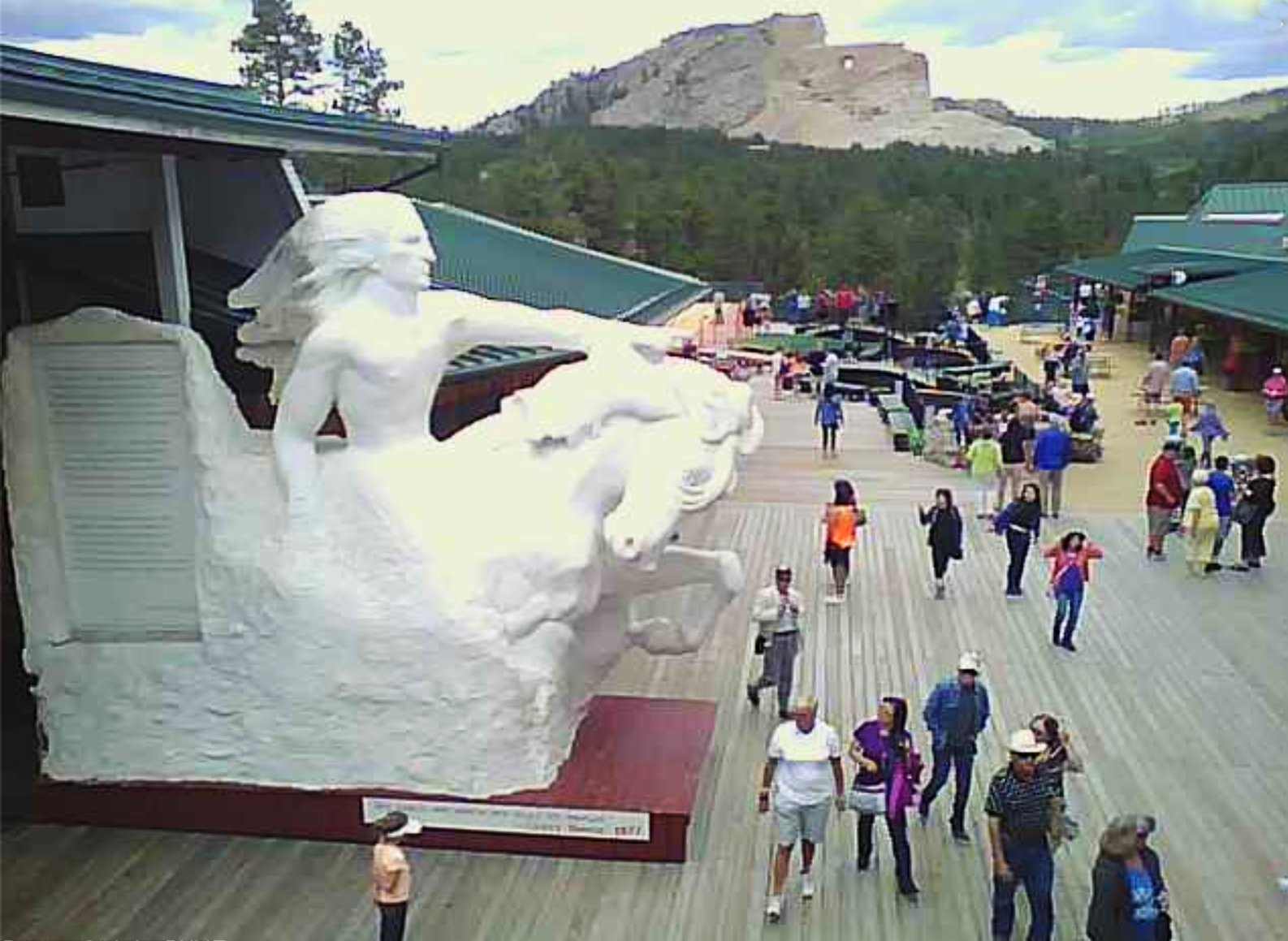 Crazy Horse Memorial Viewing Deck